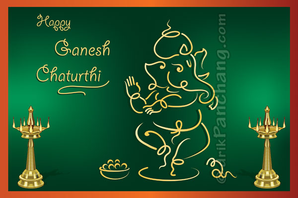 Ganesh chaturthi greeting dancing shri ganesha background shade dancing shri ganesha m4hsunfo