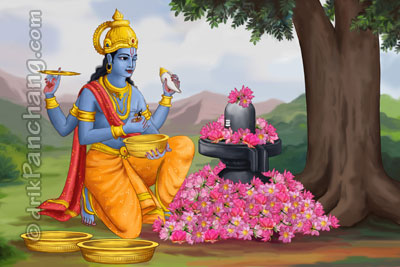 Lord Shiva and Lord Vishnu