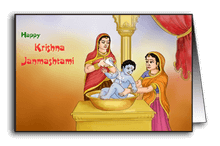 Krishna Snan on Janmashtami