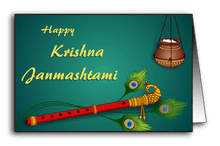 Wishing Krishna on His birthday