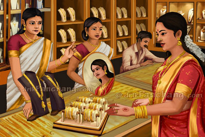 Akshaya Tritiya Gold Purchase