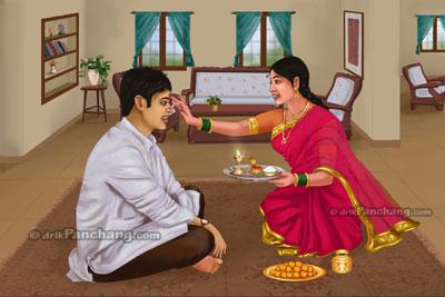 Bhaiya Dooj Tika