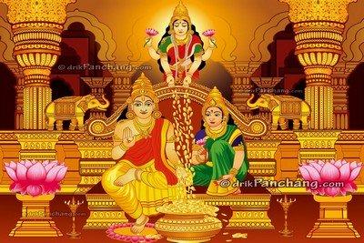 Mahalakshmi Kuber Puja on Dhanteras