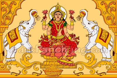 Goddess Lakshmi Puja