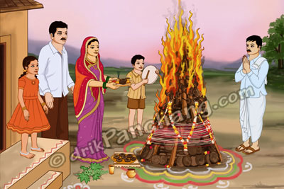 Holika Puja and Dahan