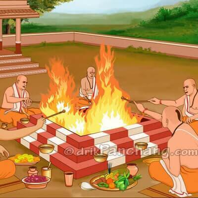 ishti and Anvadhan Puja