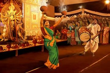 Dhunuchi Dance