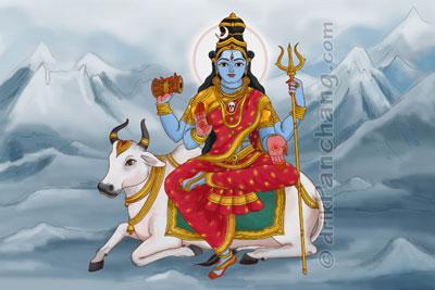 Goddess Maheshvari Matrika