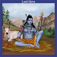 Lord Shiva on Kailash Parvat