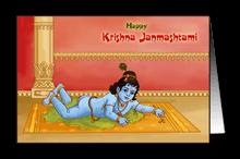 Charming Baby Krishna
