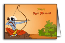 Lord Rama with Bow-Arrow