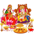 Diwali Lakshmi Ganesha