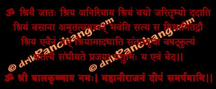 Krishna Nirajan Mantra in Hindi