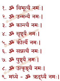 Peetha Puja Mantra in Hindi