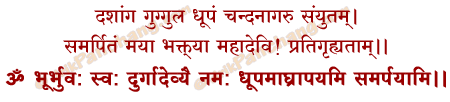 Bilvapatra Mantra in Hindi