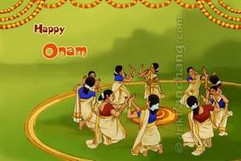 Onam Thiruvathirakali Dance