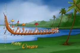 Onam Vallam Kali Boat Race