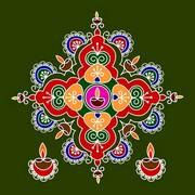 Diwali Rangoli 16