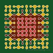 11x11 Dot Rangoli