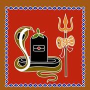 Shiva Rangoli 10
