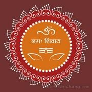 Shiva Rangoli 15