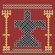 Shiva Rangoli 6