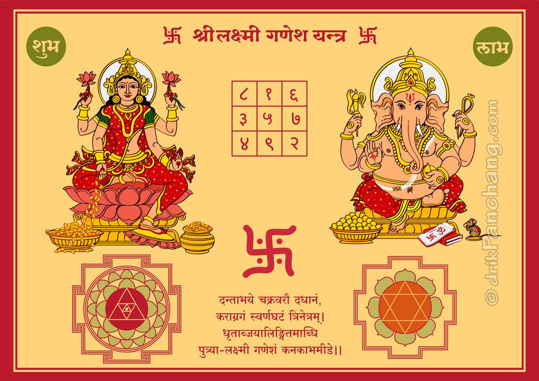 Lakshmi Ganesha Yantra